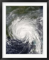 Framed Hurricane Dennis