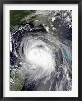 Framed Hurricane Katrina