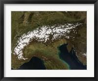 Framed Alps