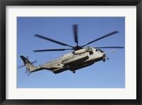 Framed US Marine Corps CH-53 Sea Stallion