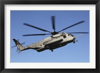 Framed US Marine Corps CH-53 Sea Stallion