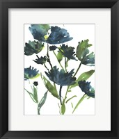 Blueberry Blooms  I Framed Print