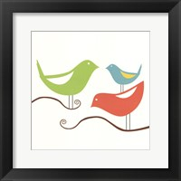 Songbirds I Framed Print