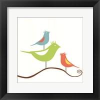 Songbirds II Framed Print