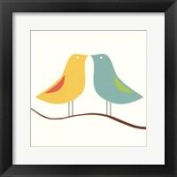 Framed Songbirds IV