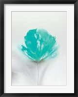 Framed Aqua Sorbet I