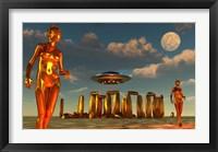 Framed Alien Interdimensional Beings