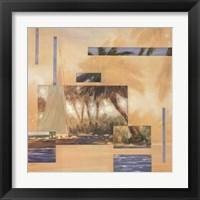 Framed Anoetic Palms I