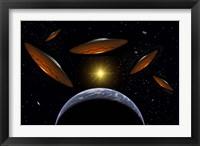 Framed Flying Saucers