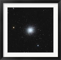Framed Messier 13, The Great Globular Cluster in Hercules