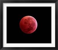 Framed Total Lunar Eclipse
