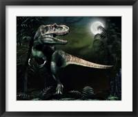 Framed Albertosaurus