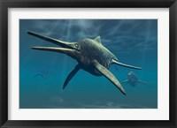 Framed Shonisaurus