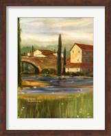 Framed Italian Sojourn I
