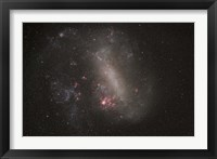 Framed Large Magellanic Cloud