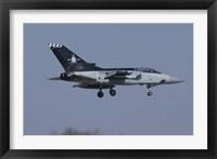Framed Panavia Tornado F3 of the Royal Air Force