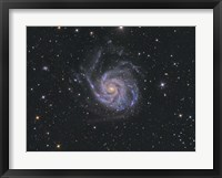 Framed Messier 101, Pinwheel Galaxy