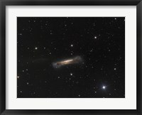 Framed NGC 3628, the Hamburger Galaxy