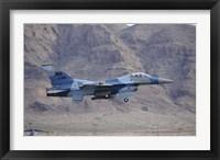 Framed F-16C Falcon