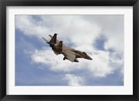 Framed F-15 Eagle
