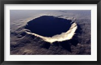 Framed Meteor Crater