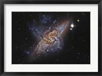 Framed NGC 3314