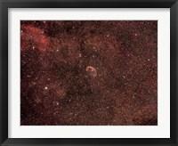 Framed Crescent Nebula
