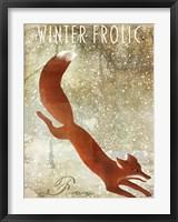 Framed Winter Game One