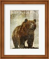 Framed Winter Game Three