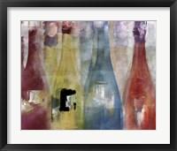 Bouteilles II Framed Print