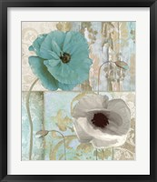 Beach Poppies II Framed Print