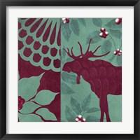 Woodland Winter II Framed Print