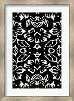 Framed Black & White Pattern