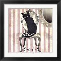 Framed Bad Cat I