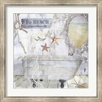 Framed Beach House I