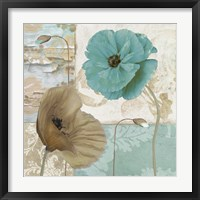 Framed Beach Poppies IV