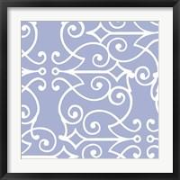 Kasbah Blue I Framed Print