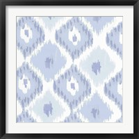 Framed Kasbah Blue II