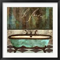 Framed Le Bain Aqua