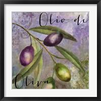 Framed Olivia I