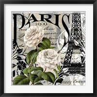 Paris Blanc II Framed Print