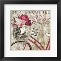 Framed Postale  Paris I
