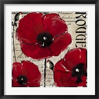 Rouge Two Framed Print