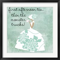 Southern Belles One Framed Print