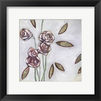 Framed Fleur de Joie III
