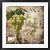 Wine Country VI Framed Print