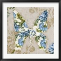 Winged Tapestry I Framed Print