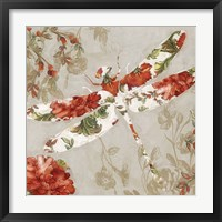 Winged Tapestry III Framed Print