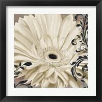 Framed Winter White I