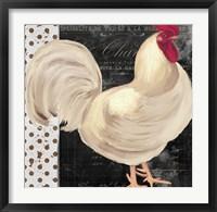 White Rooster Cafe I Framed Print